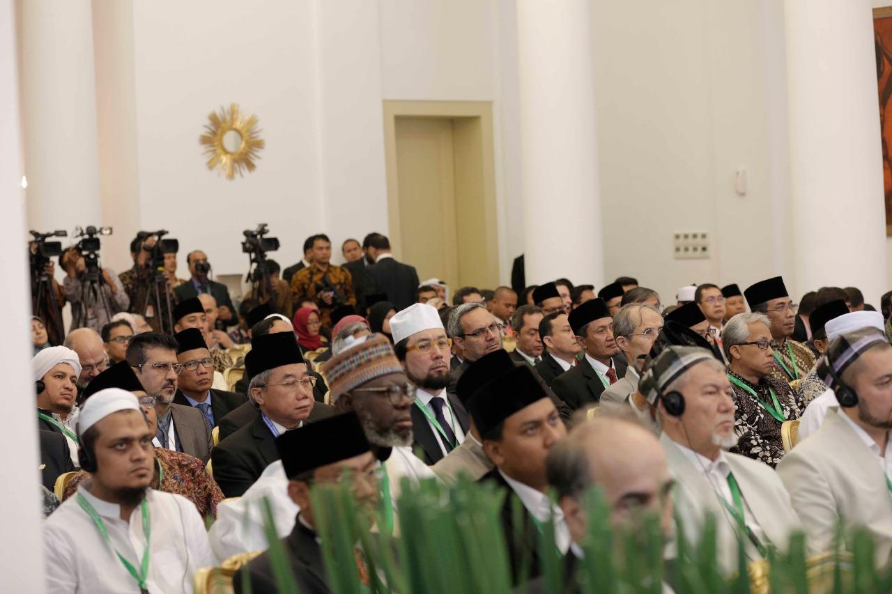 جانب من اللقاء التشاوري العالمي حول وسطية الإسلام في إندونيسيا (4)