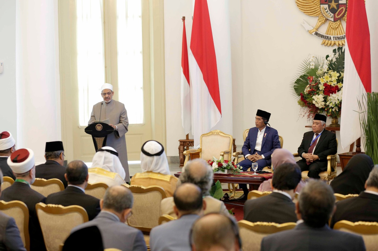 جانب من اللقاء التشاوري العالمي حول وسطية الإسلام في إندونيسيا (9)