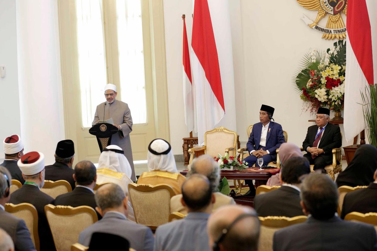 جانب من اللقاء التشاوري العالمي حول وسطية الإسلام في إندونيسيا (1)