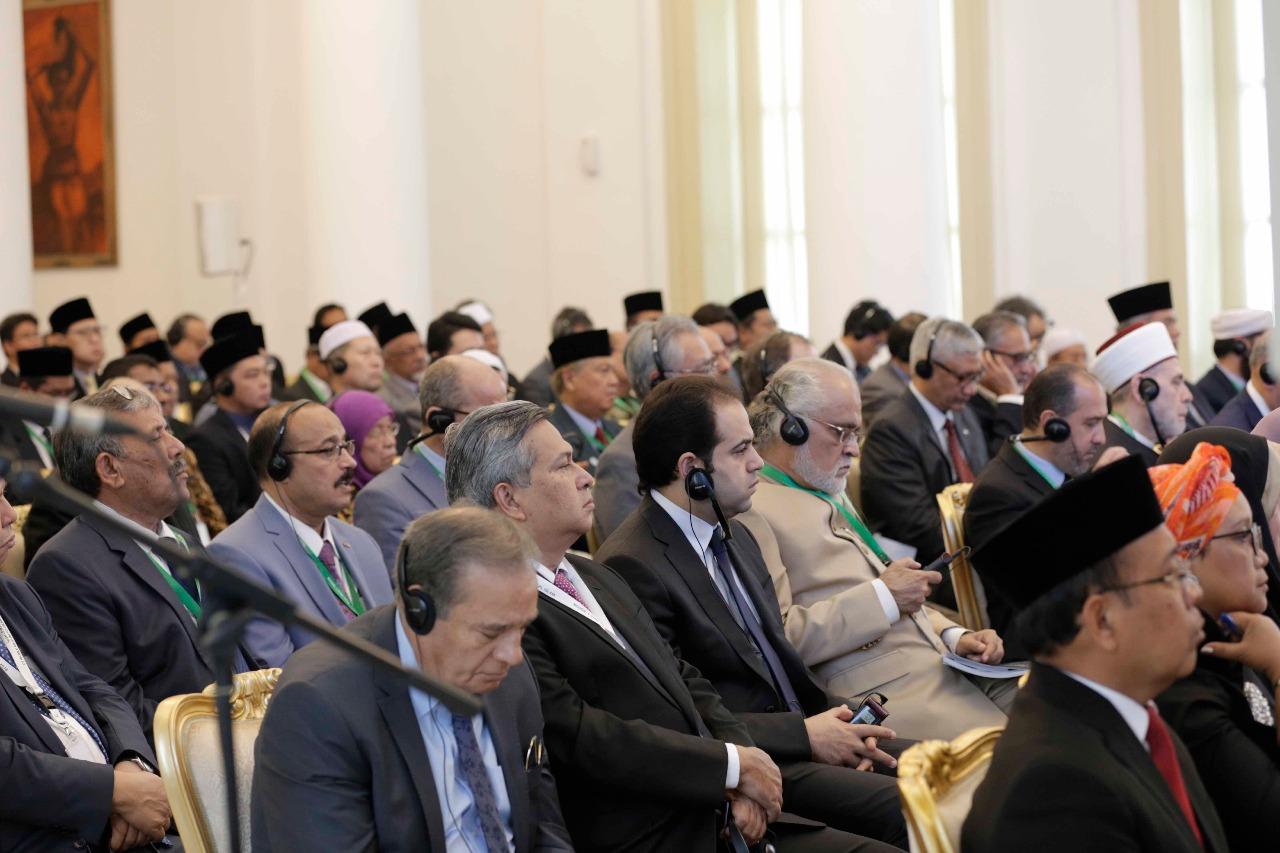 جانب من اللقاء التشاوري العالمي حول وسطية الإسلام في إندونيسيا (7)