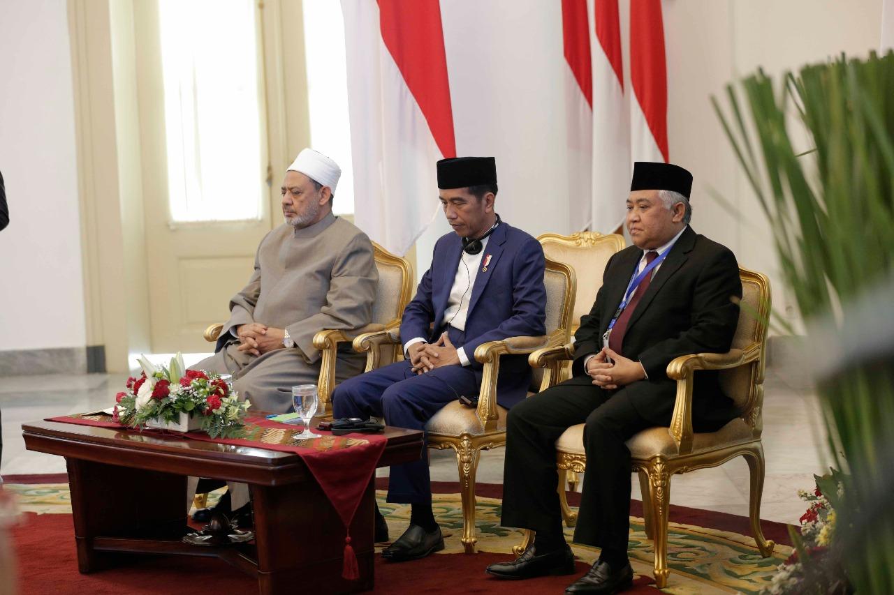 جانب من اللقاء التشاوري العالمي حول وسطية الإسلام في إندونيسيا (2)