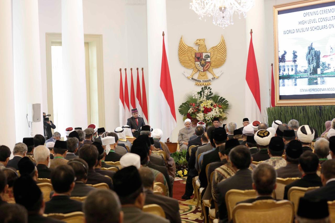 جانب من اللقاء التشاوري العالمي حول وسطية الإسلام في إندونيسيا (3)