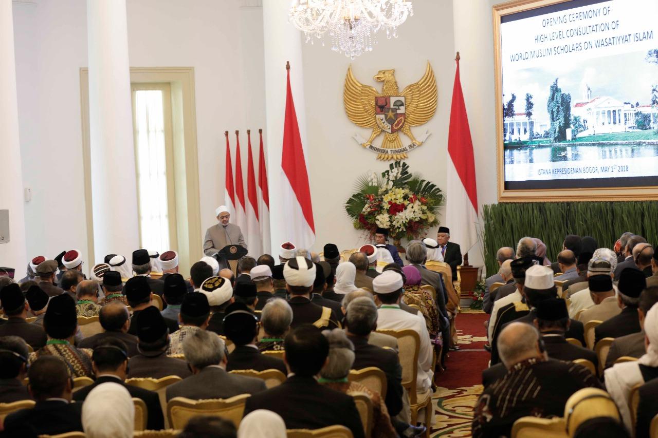 اللقاء التشاوري العالمي حول وسطية الإسلام في إندونيسيا (5)