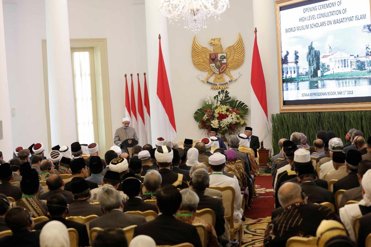 اللقاء التشاوري العالمي حول وسطية الإسلام في إندونيسيا (4)