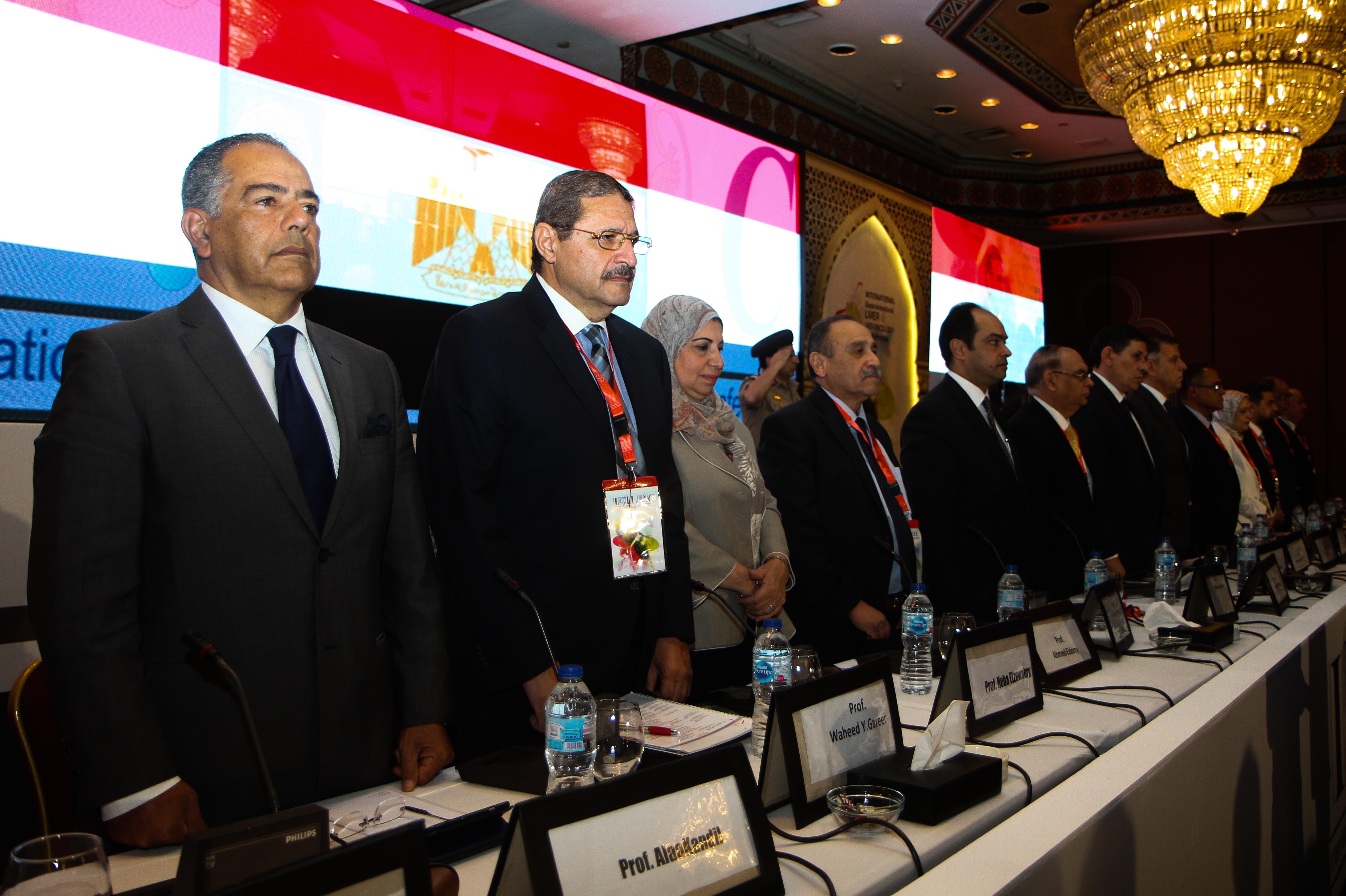 مؤتمر الجمعية المصرية لأورام الجهاز الهضمى والكبد والجهاز البولى (1)