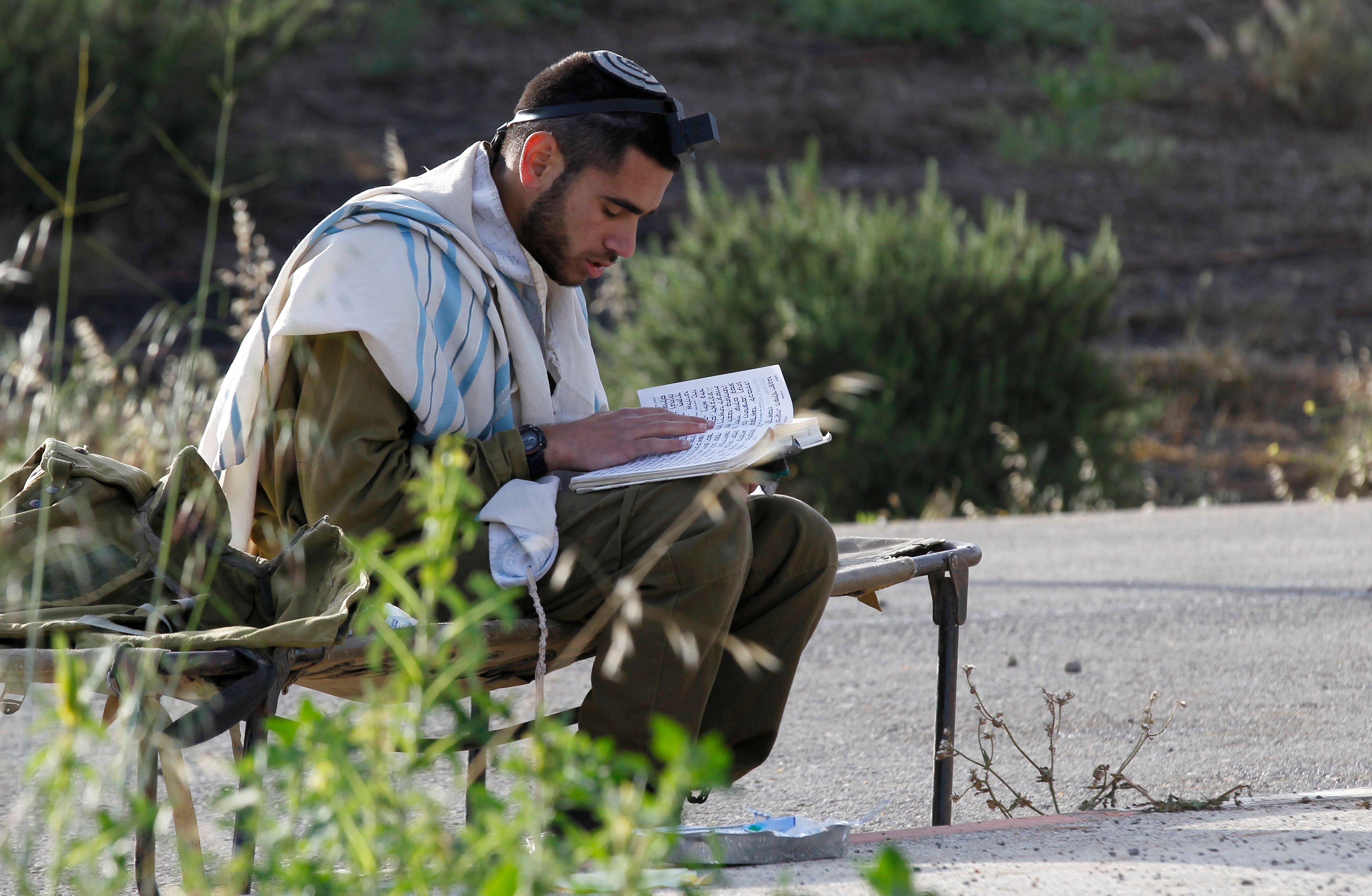 أحد الجنود الإسرائيليين
