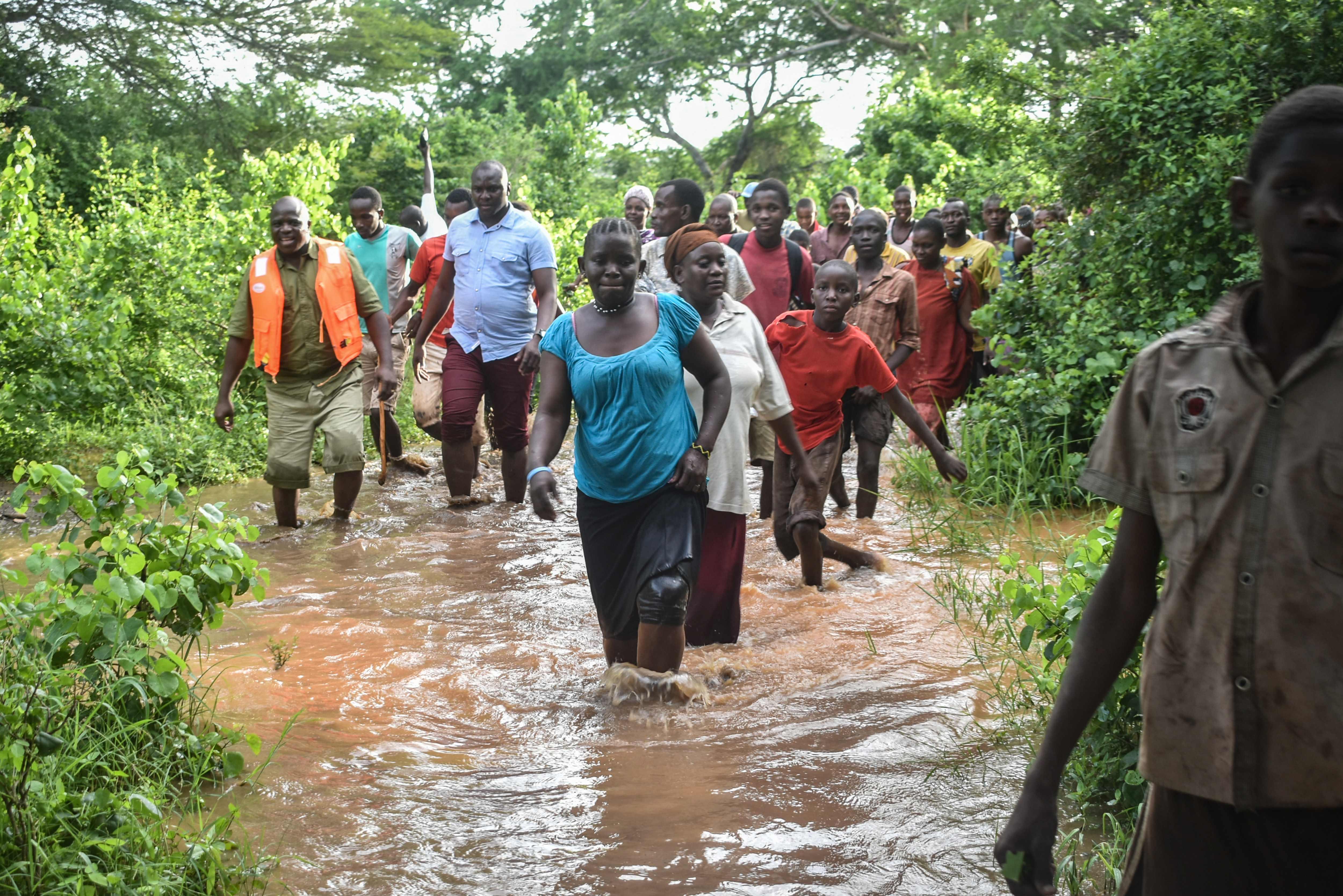 المياه الناجمة عن الفيضان