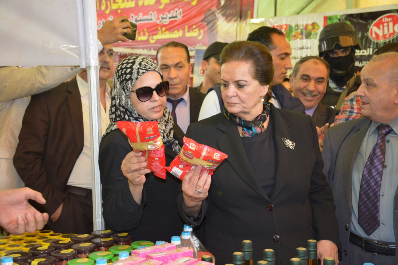 3 جانب من افتتاح معرض اهلا رمضان
