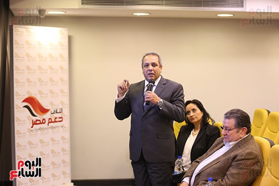 ندوة ائتلاف دعم مصر مع اليوم السابع (3)