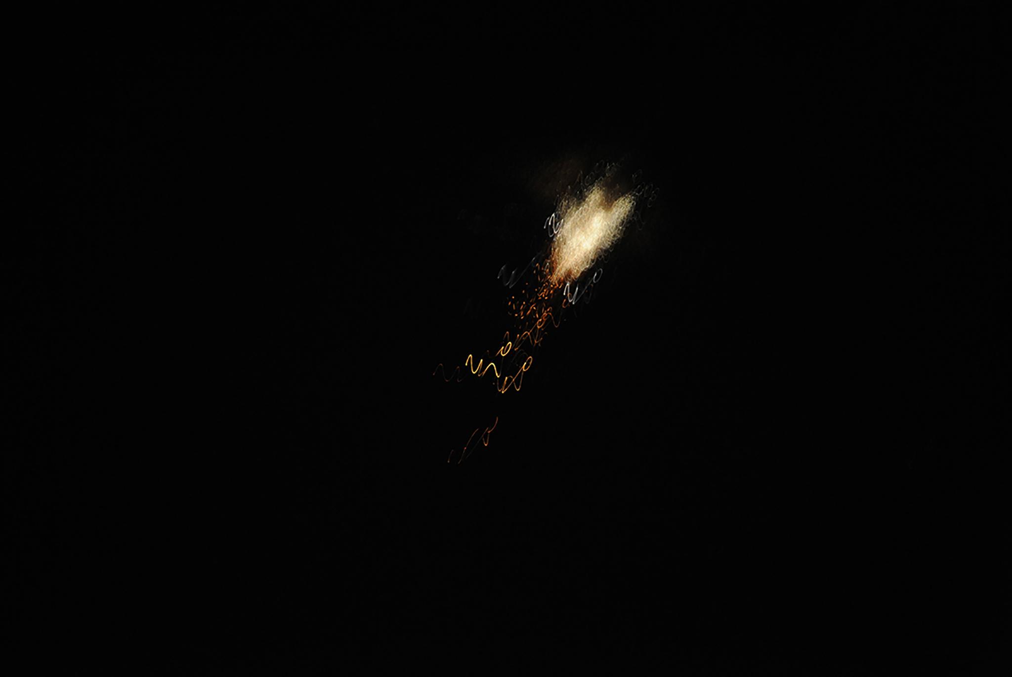 جانب من الهجوم على الأهداف السورية