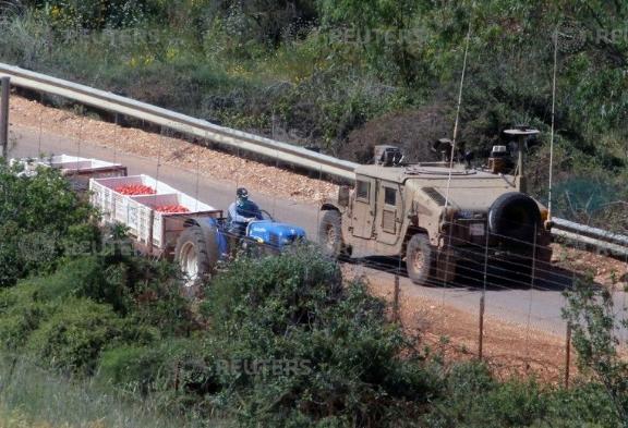 عناصر الجيش الإسرائيلى فى الجولان المحتل