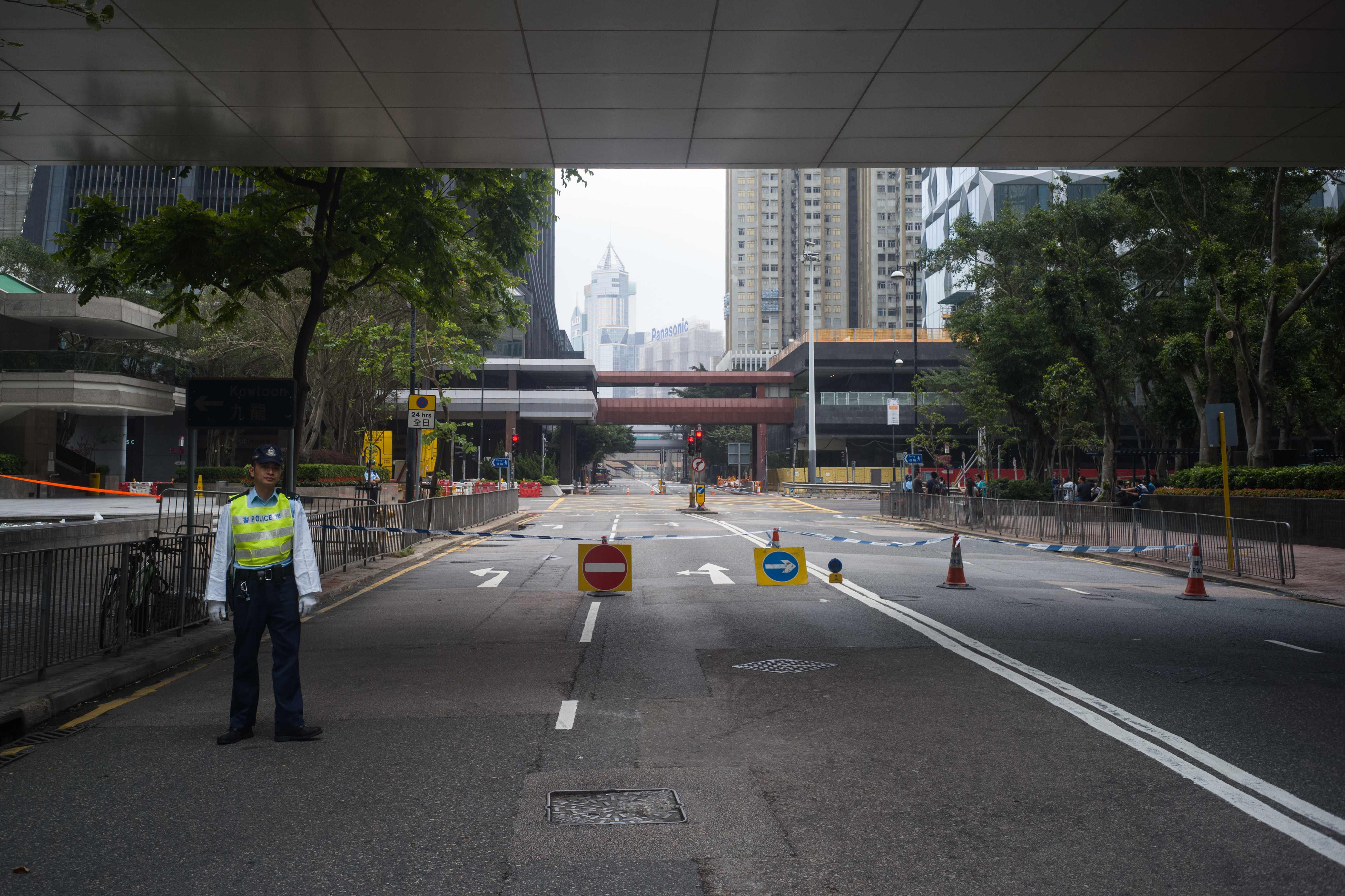 غلق شوارع عقب العثور على قنبلة