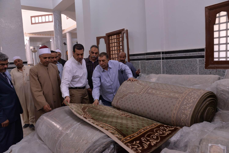 تفقد أعمال تطوير مسجد الفرغل (3)