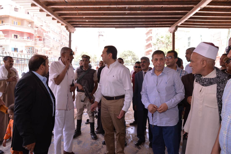 تفقد أعمال تطوير مسجد الفرغل (1)
