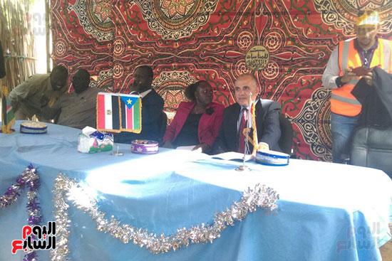 وزير الرى يحمل رسالة شفهية من السيسي لرئيس جنوب السودان (2)