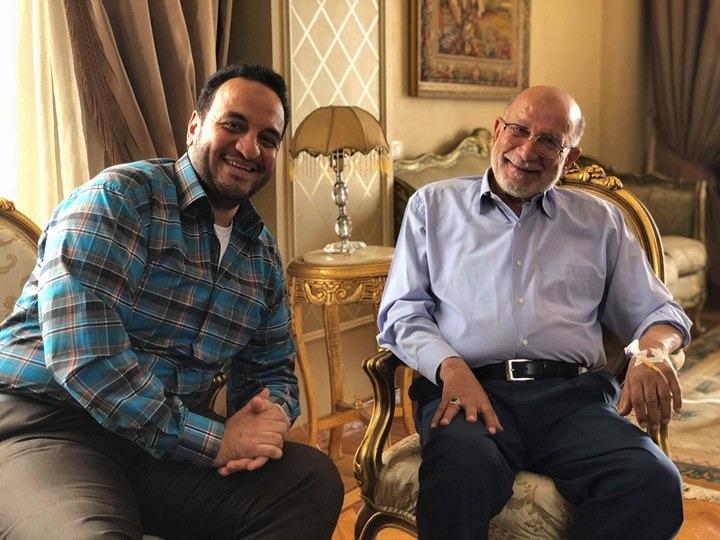 الفنان أحمد خليل و هشام اسماعيل