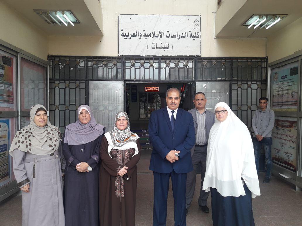 رئيس جامعة الازهر يهنئ الكليات الحاصلة على الجودة - 4