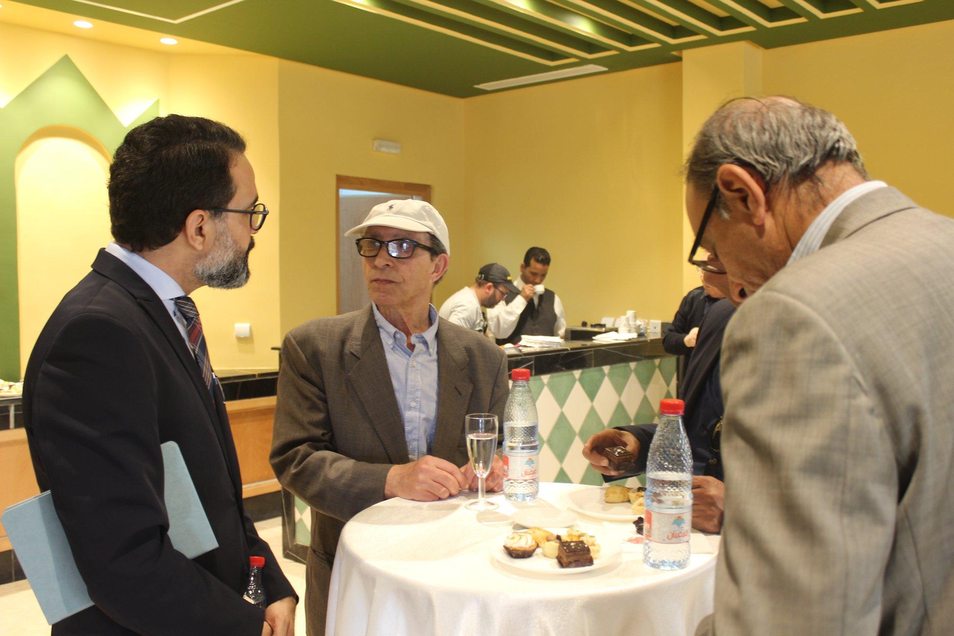 الاجتماع التشاورى الأول لـ بيت الرواية فى تونس (3)