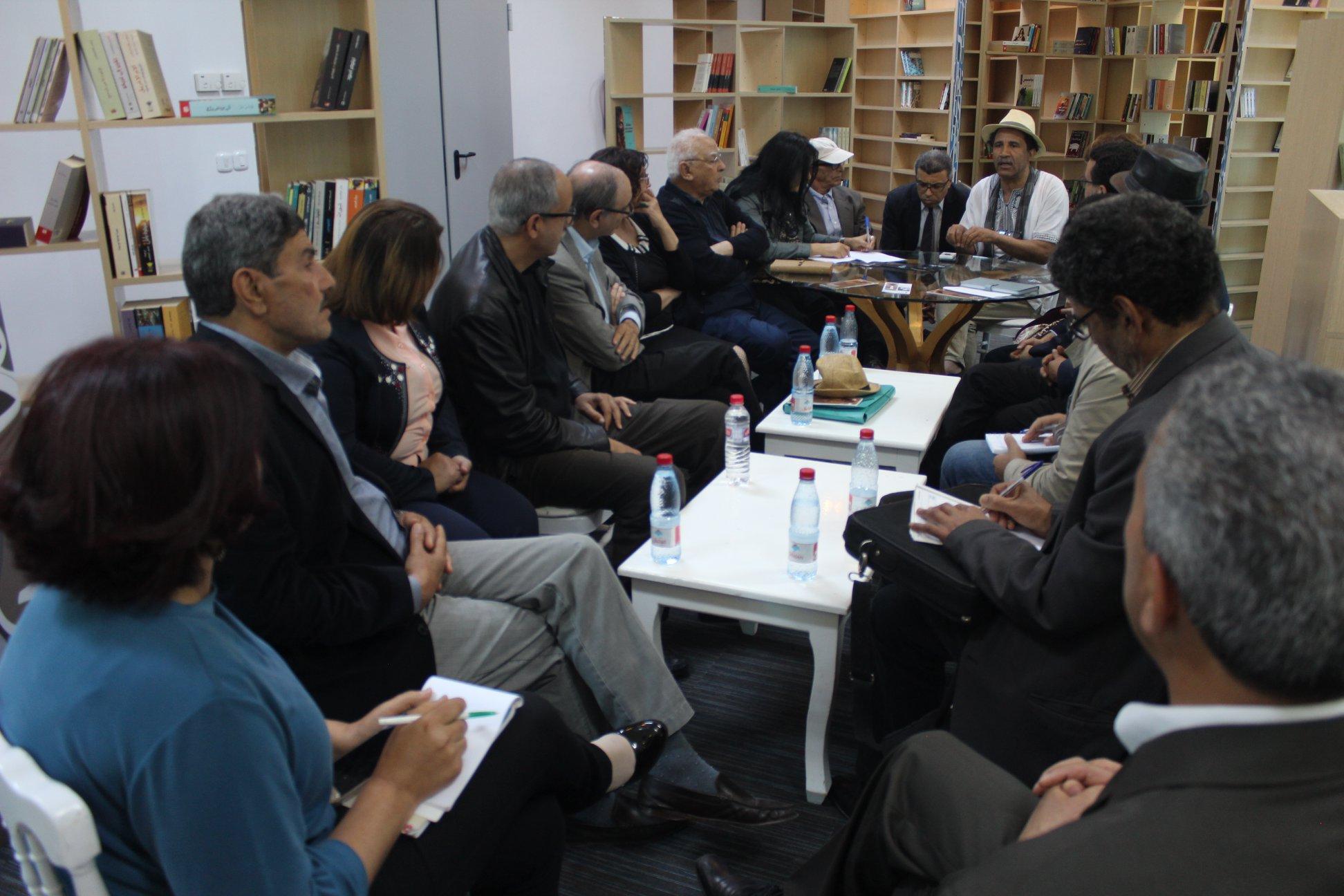 الاجتماع التشاورى الأول لـ بيت الرواية فى تونس (6)