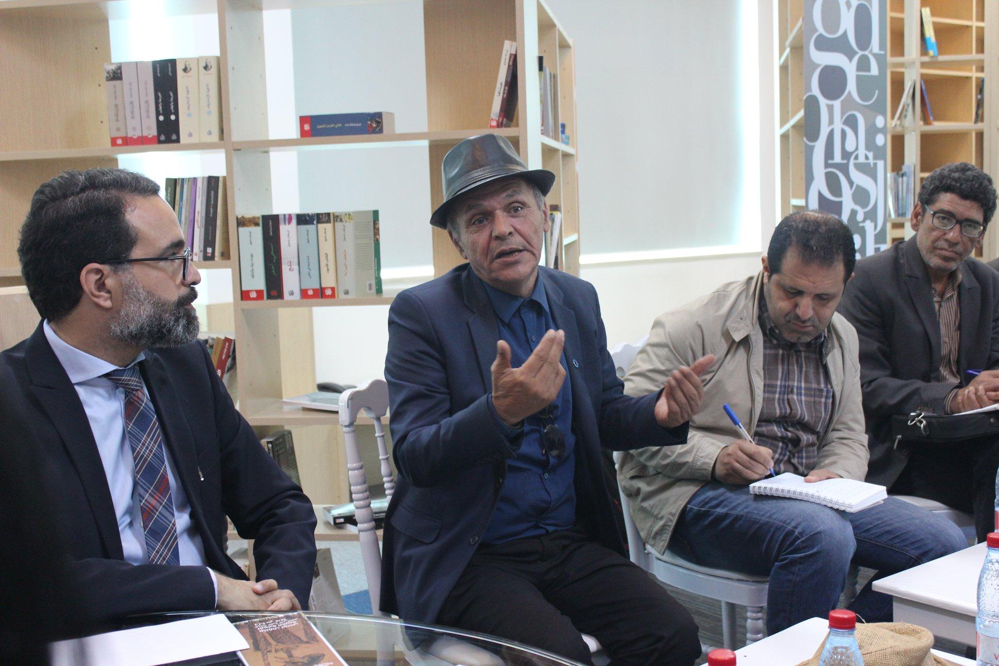 الاجتماع التشاورى الأول لـ بيت الرواية فى تونس (13)