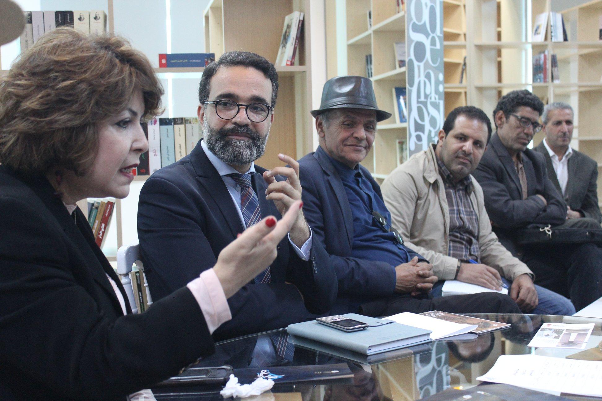 الاجتماع التشاورى الأول لـ بيت الرواية فى تونس (11)