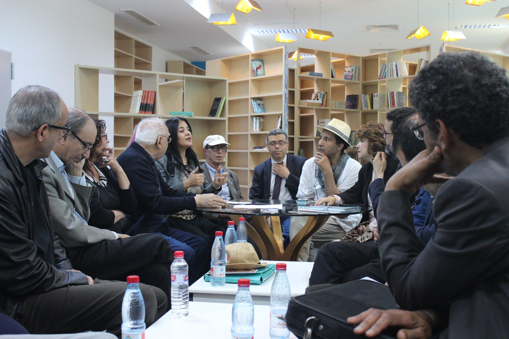 الاجتماع التشاورى الأول لـ بيت الرواية فى تونس (1)