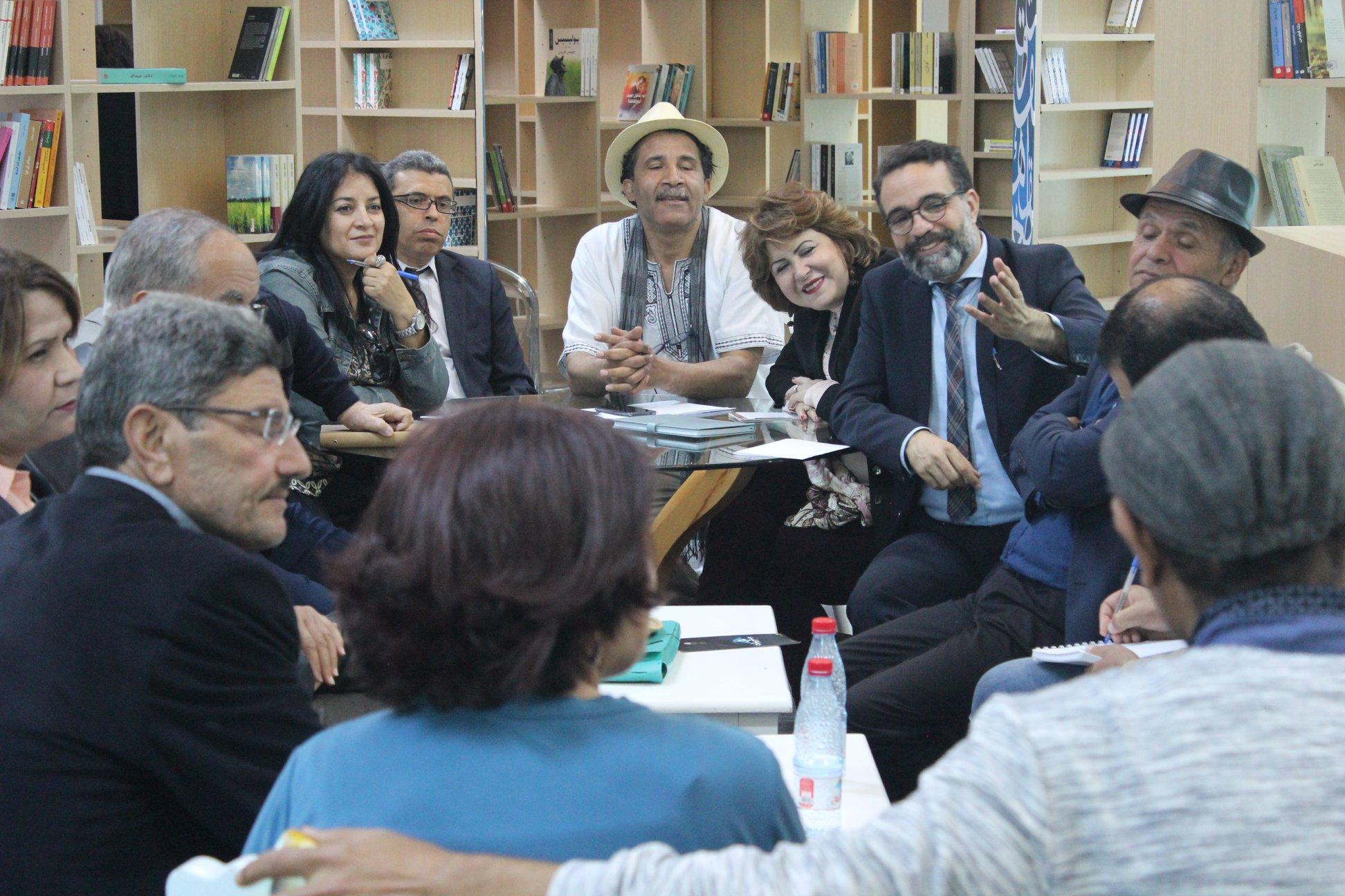 الاجتماع التشاورى الأول لـ بيت الرواية فى تونس (8)