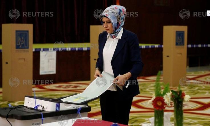 جانب انطلاق الانتخابات العراقية