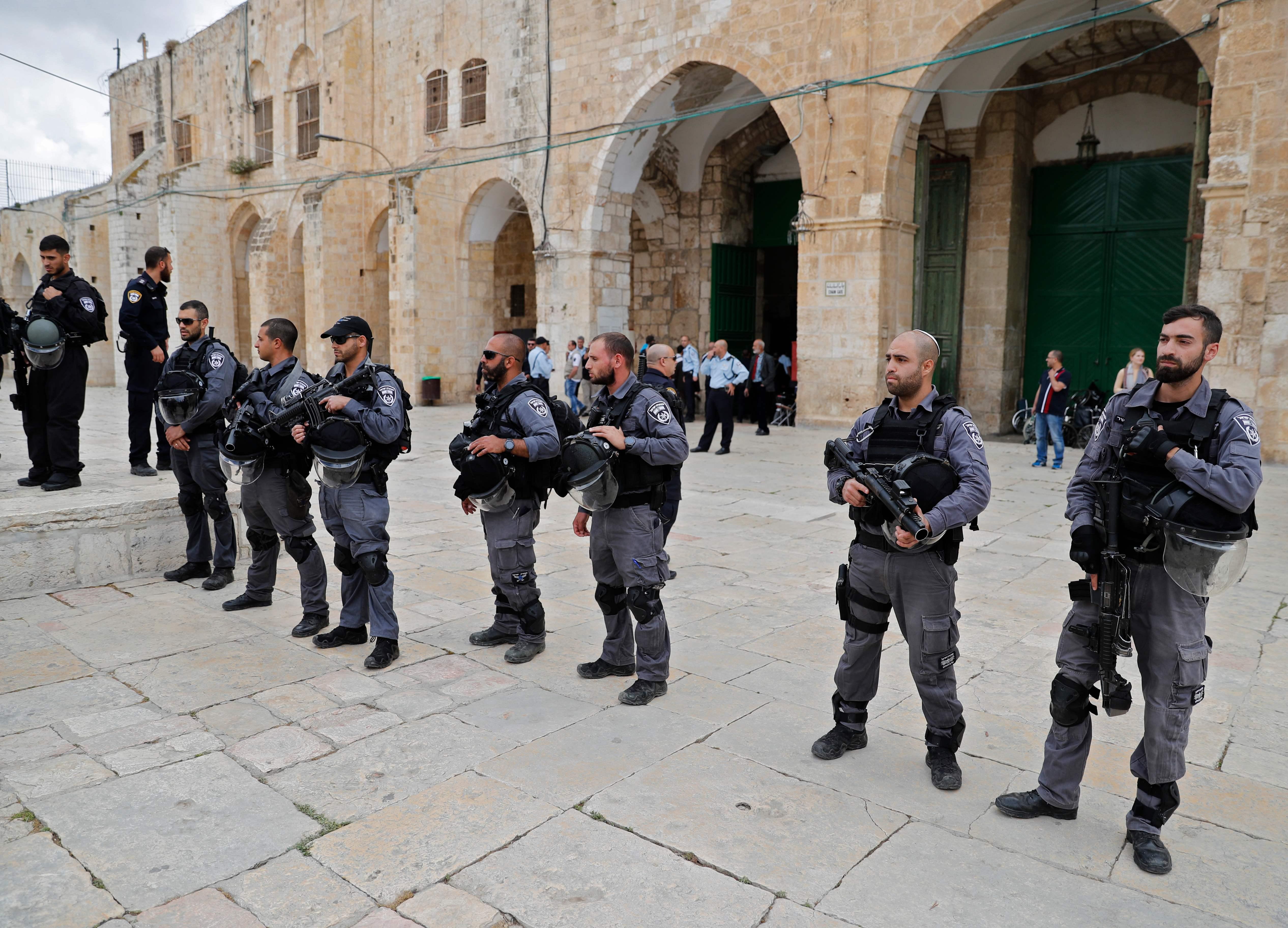 انتشار قوات الاحتلال