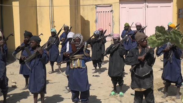 اطفال بوكو حرام