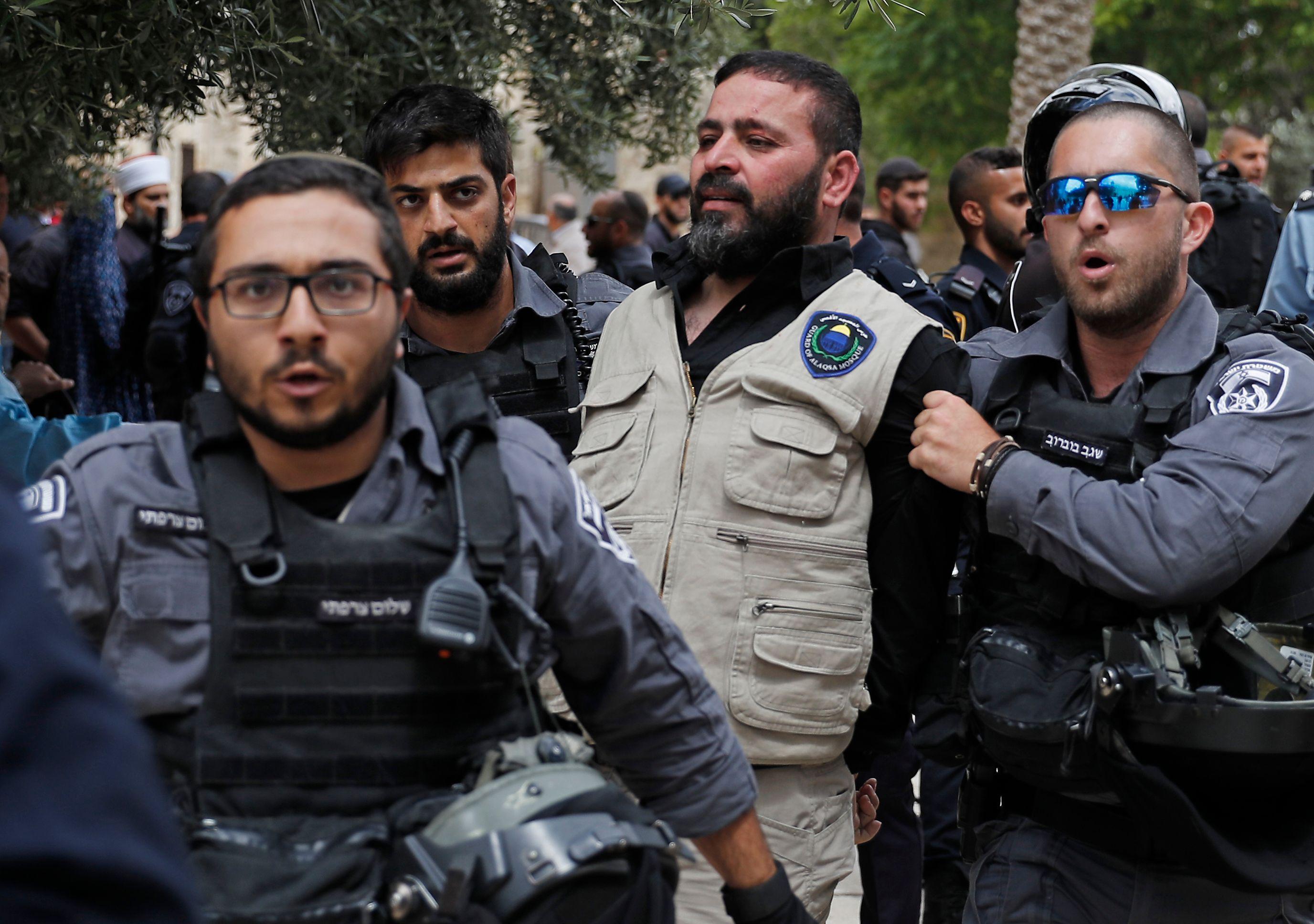 جانب من الاعتقالات