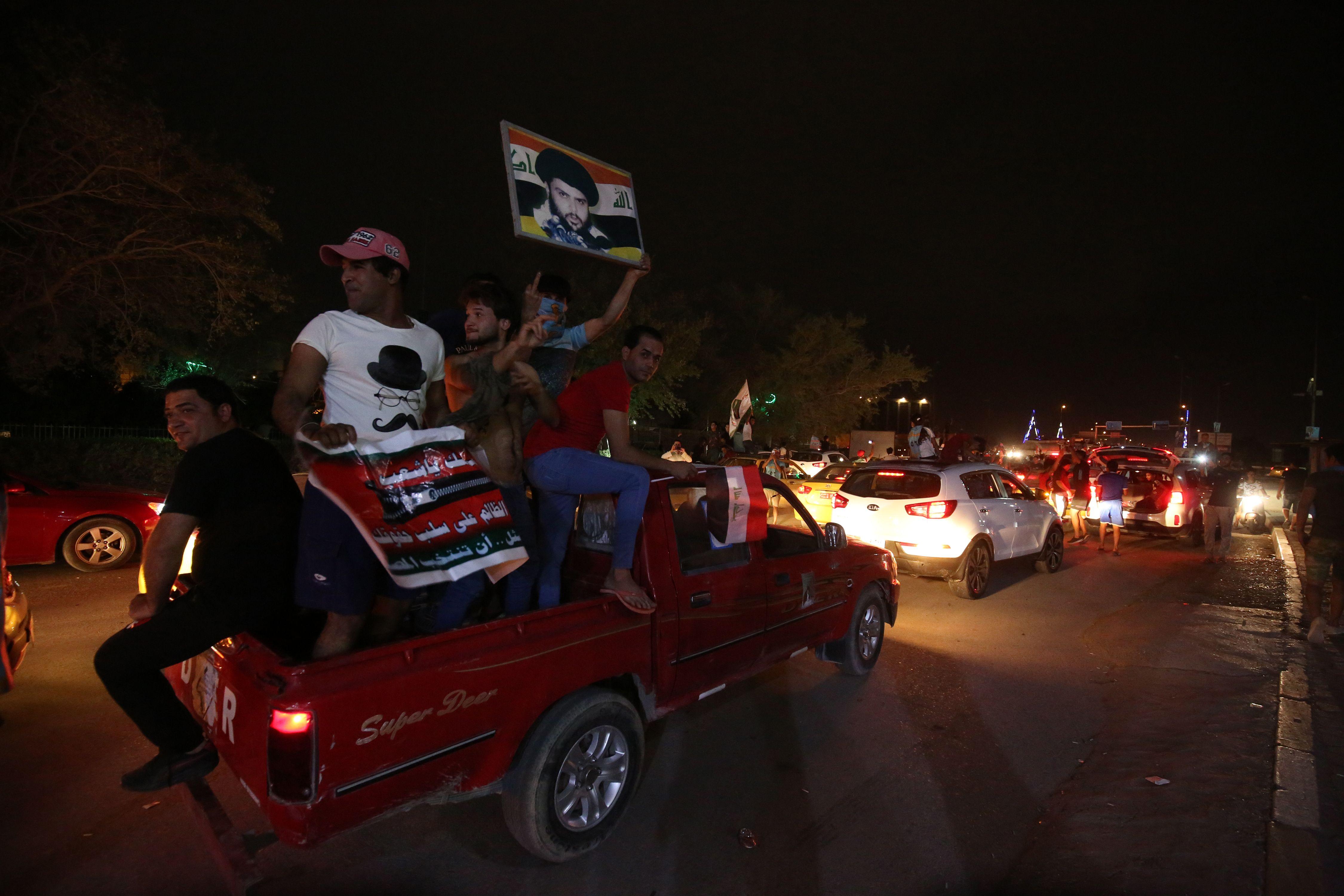 احتفالات تعم العراق