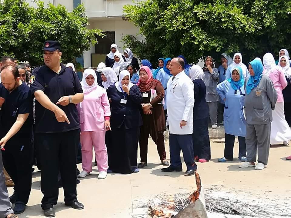 مستشفى بنها التخصصى تنظم دورة تدريبية (3)