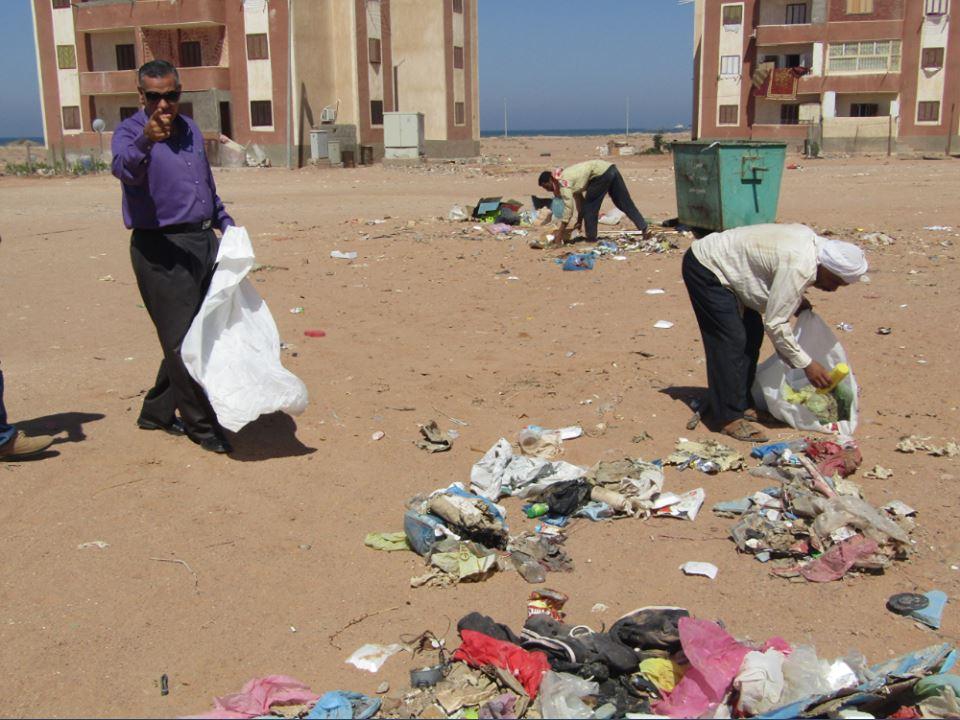 حملات نظافة بمدينة أبورديس (1)