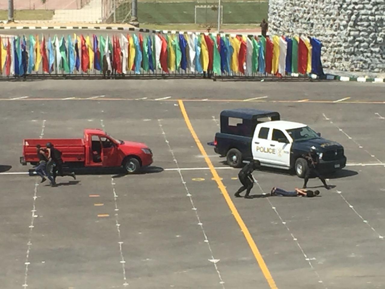 سيناريوهات للشرطة لمداهمة لعناصر الارهابية بحضور وزير الداخلية (1)