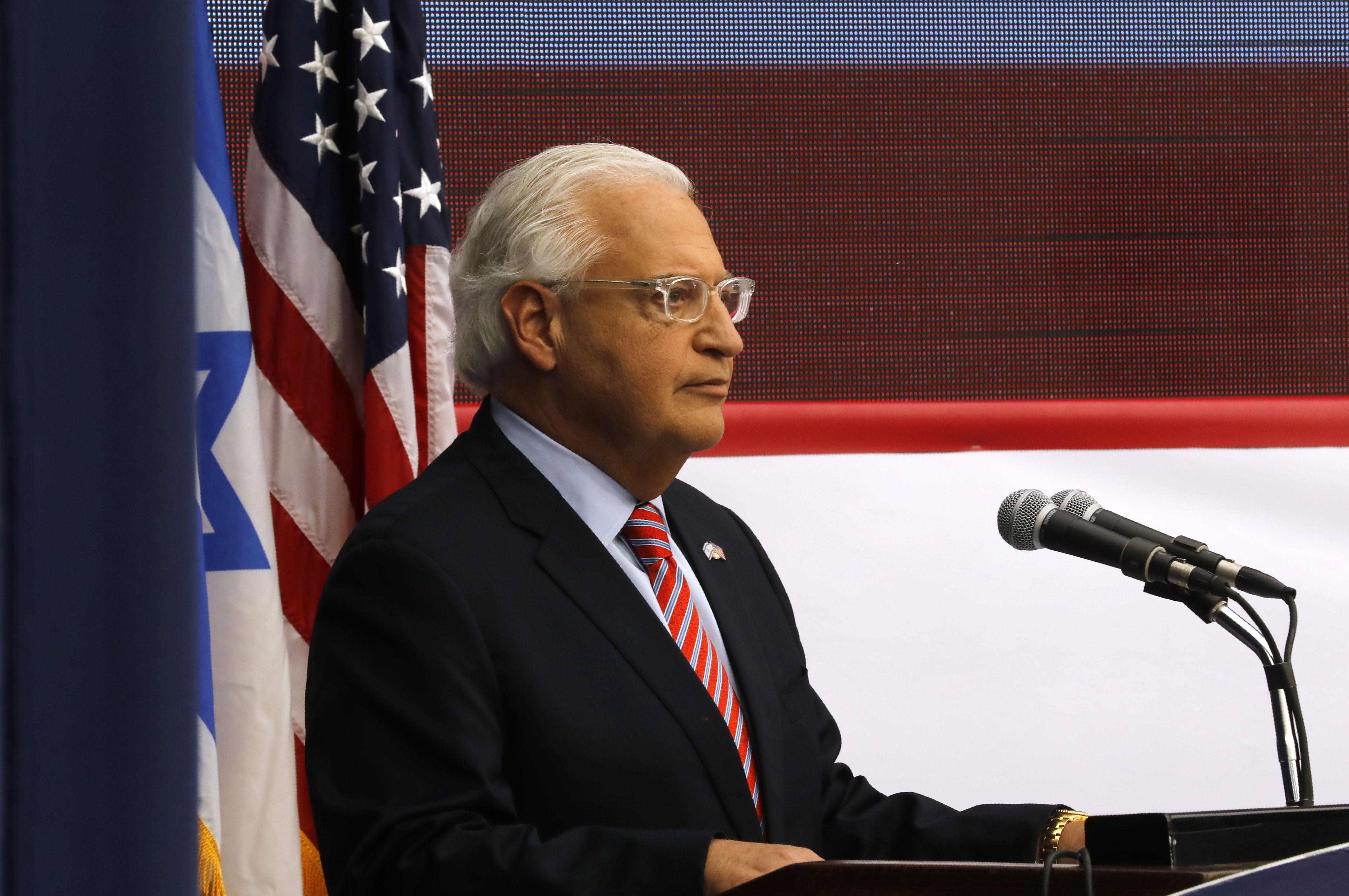 كلمة السفير الأمريكى بإسرائيل