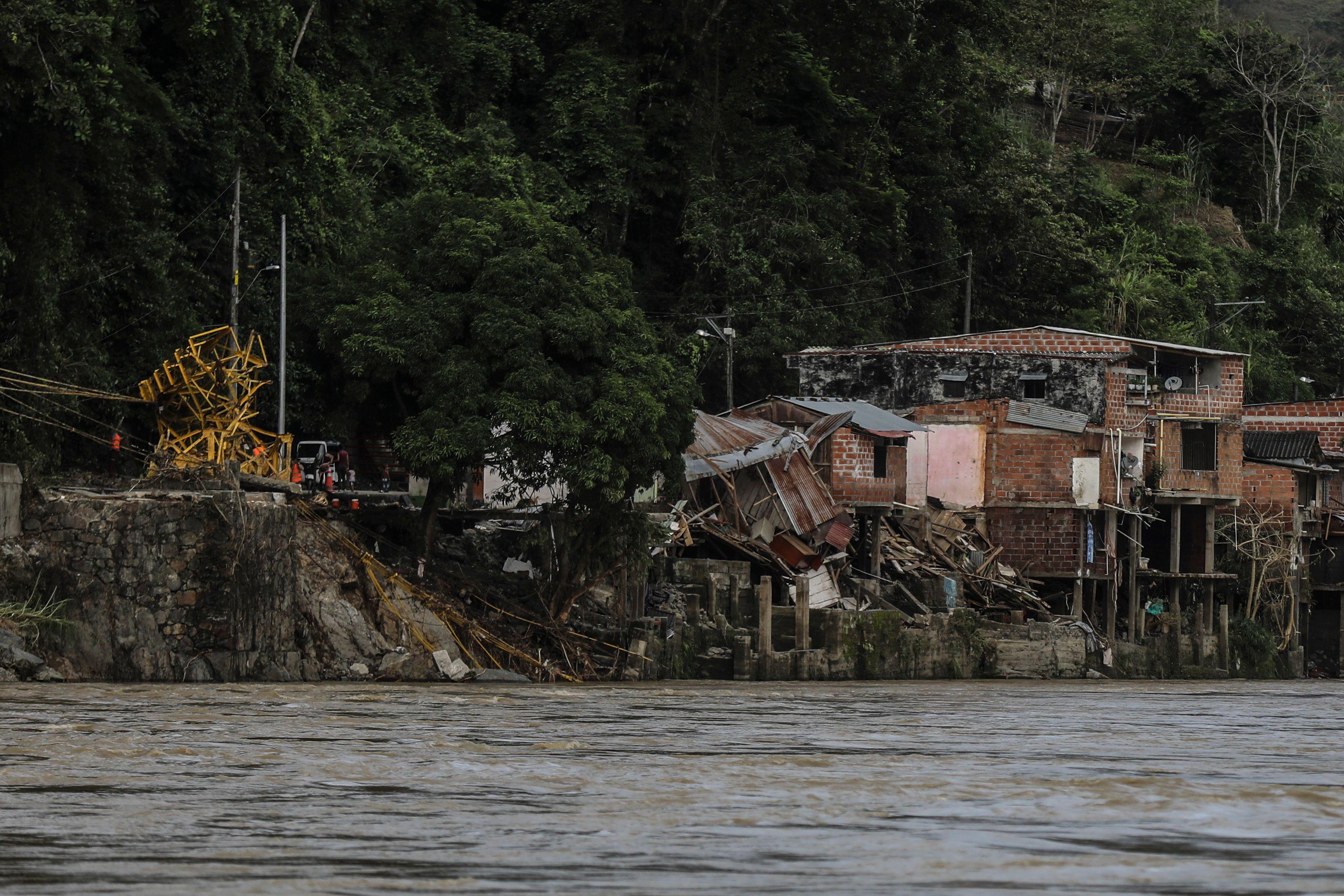 فيضانات كولومبيا