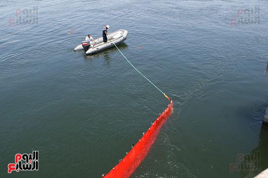 شركة مياة الاقصر خلال فعاليات السيناريو لمواجهة تلوث المياة