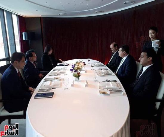 وفد البرلمان المصرى فى كوريا (2)
