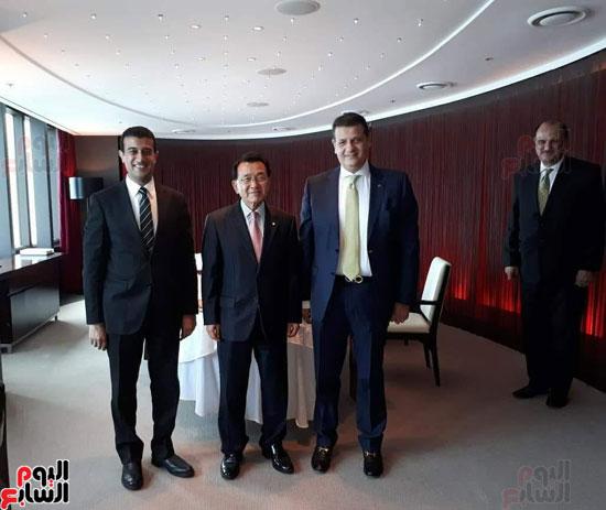وفد البرلمان المصرى فى كوريا (3)