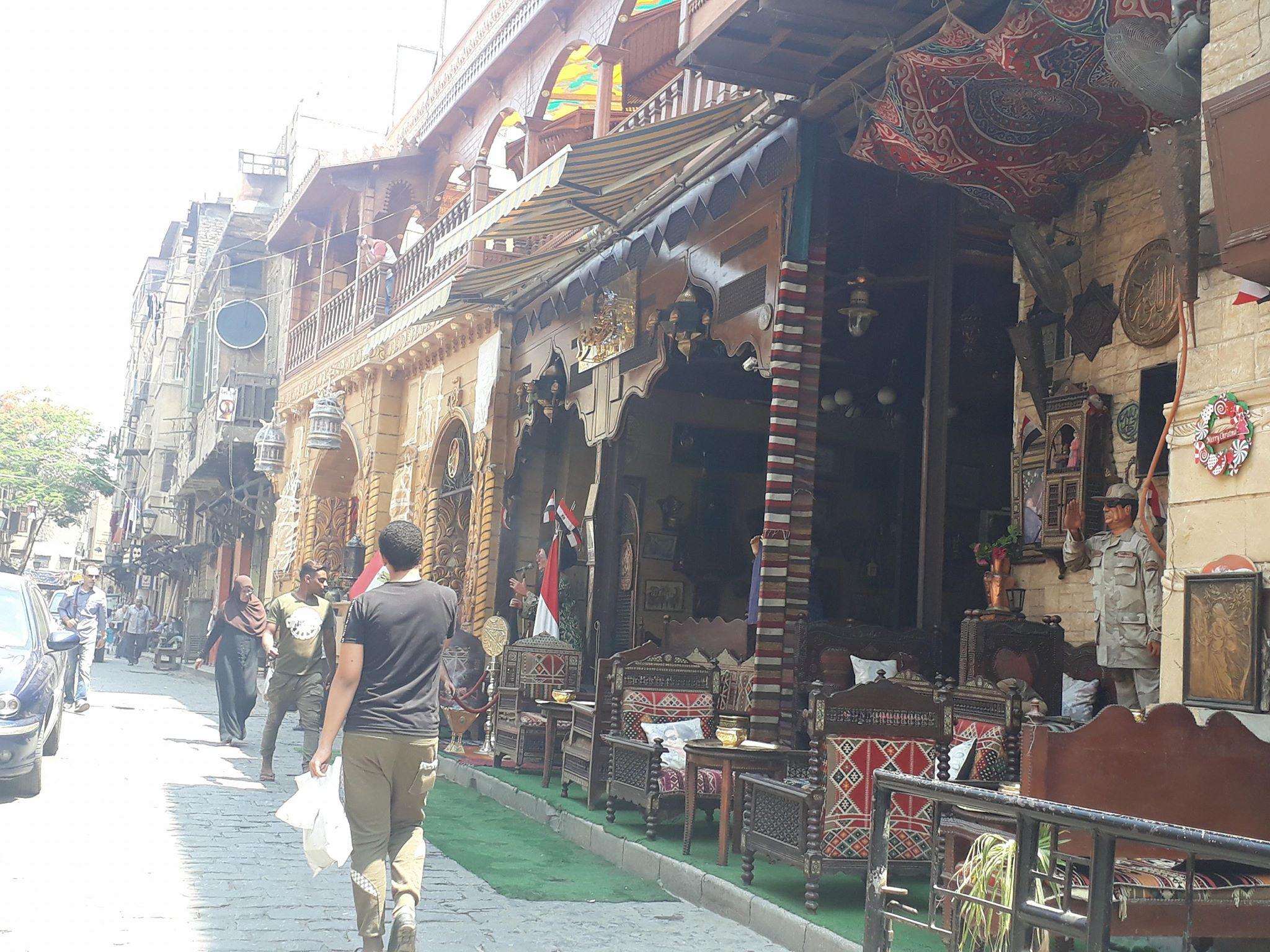 مقاهى الحسين (7)