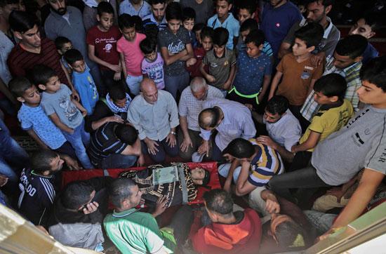 تشييع جثمان شهيد فلسطينى