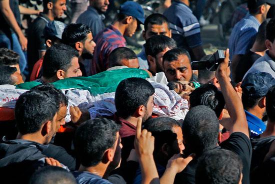 شهيد فلسطينية فى غزة