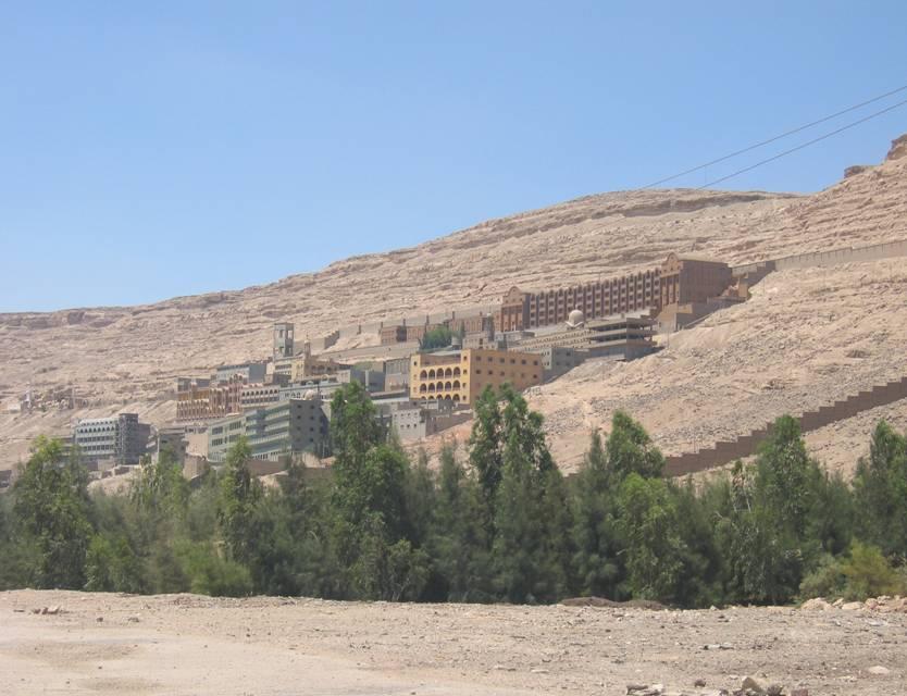 دير العذراء بجبل درنكه