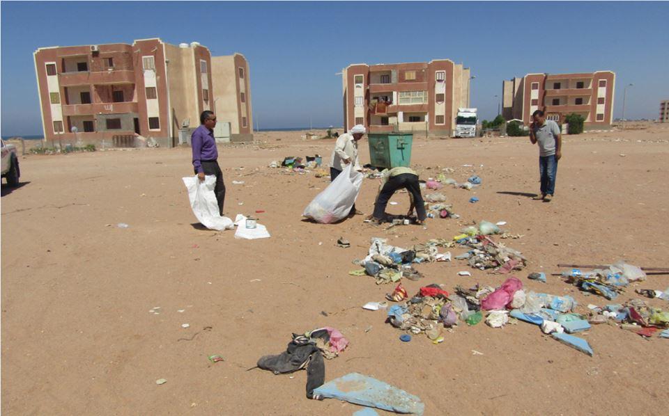 حملات نظافة بمدينة أبورديس (4)