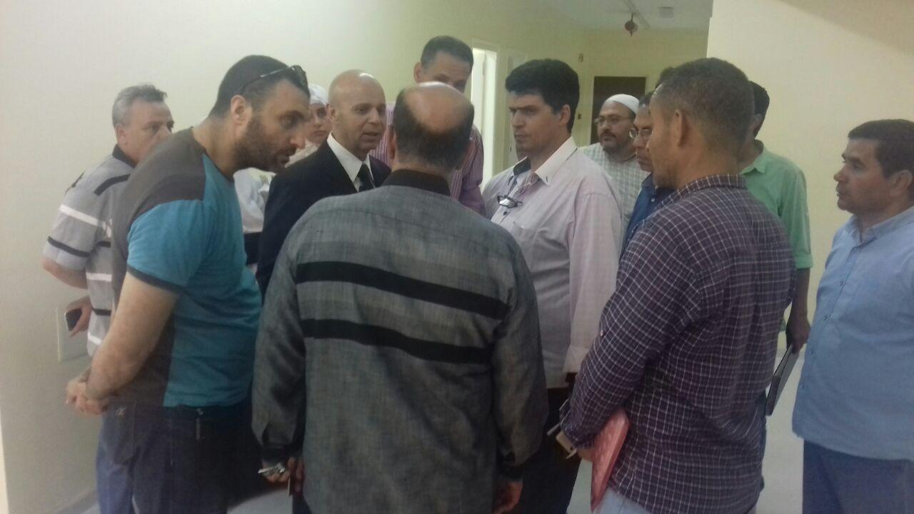 خصم حافز مايو لفريق الجودة و مكافحة العدوي بمستشفي بلببيس في الشرقية للاهمالهم في العمل (2)