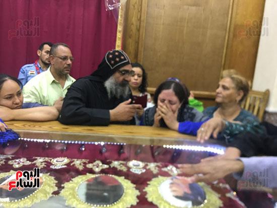 صور مقبره شهداء اقباط المنيا (24)