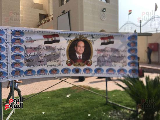 صور مقبره شهداء اقباط المنيا (20)