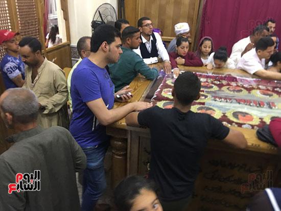 صور مقبره شهداء اقباط المنيا (14)