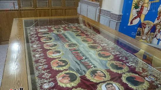 صور مقبره شهداء اقباط المنيا (1)